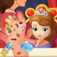 play sofia foot doctor free games