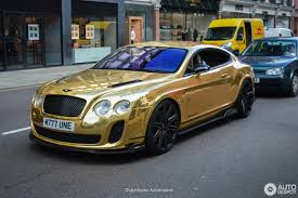 matte gold bentley bentley continental supersports coupé by kream developments 28
