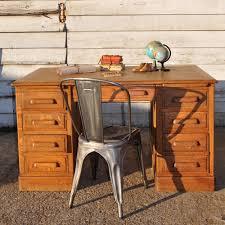 Oak Office Desks Vintage Oak Office Desk A Larger Version Of This In My