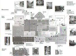 layout of the met metropolitan museum of art