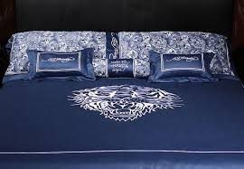 Ed Hardy Bed Set Ed Hardy Shop California Ed Hardy Tiger Marine Literie Broderie