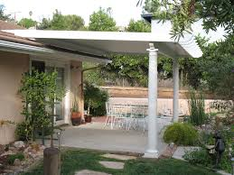 Deck Roof Ideas Home Decorating - roofing ideas for patio of also marvelous white round column with