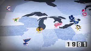 Nhl Map Watch The Expansion Of The Nhl Through The Years Youtube
