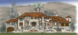 luxury mediterranean home plans amazing 34 desert southwest