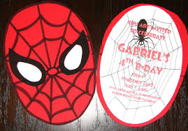 Homemade Birthday Invitation Cards 107 Best Festa Homem Aranha Images On Pinterest Birthday Party