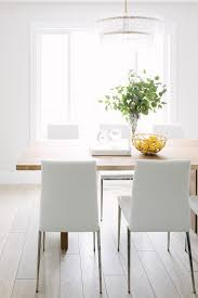 White Leather Dining Chairs Modern Modern White Leather Dining Chairs Design Ideas