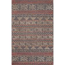 Brown And Gray Area Rug Modern Tribal Gray Wool Area Rug Fair Isle Gray Novica