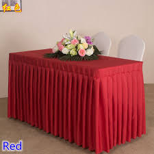 Cloth Table Skirts by Popular Decorative Table Skirts Buy Cheap Decorative Table Skirts