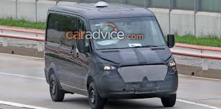 bmw sprinter van mercedes benz sprinter spied
