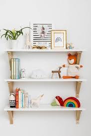 shelves for kids room a tiny nursery with huge style shelfie nursery and kids rooms