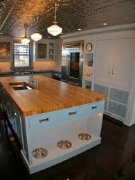 Kitchen Interiors Design 11 Ways To Make Room For Your Pets At Home Pet Food Spaces And