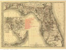 Indian River Florida Map by Old State Maps Of Florida