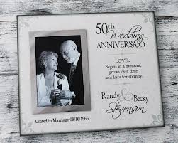 Customized Wedding Gift Personalized Parent Gift Parent Wedding Anniversary Frame Can 302