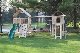 simple small backyard playsets awesome small backyard playsets