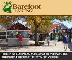 barefoot landing map at barefoot landing in myrtle retail shops for everyone