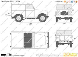 land rover drawing the blueprints com vector drawing land rover 88 s2