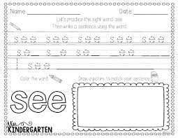 130 best sight word practice images on pinterest sight word