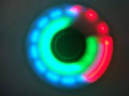 a light up fidget spinner led light up fidget spinner switch button stress reduce tri hand