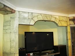 artistic murals faux painted brick and stone for a castle look artistic murals faux painted brick and stone for a castle look