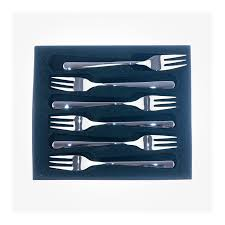 bistro cake forks set of 6