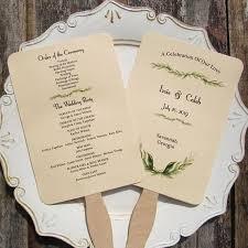 programs for wedding ceremony wedding program fan wedding programs wedding fans