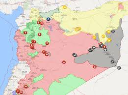 Syria On The Map by Erdogan And Putin Prepare To Hit Us Interests In Syria