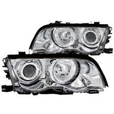 lexus is300 headlight assembly amazon com anzo usa 121016 bmw 323i projector with halo chrome