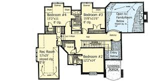 House Plans For Two Families European House Plan With Two Story Family Room 48090fm