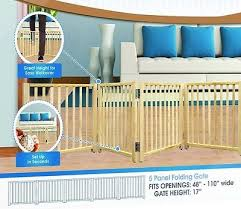 Baby Room Divider by Extra Wide Pet Gate Folding Dog Free Standing Room Divider Baby