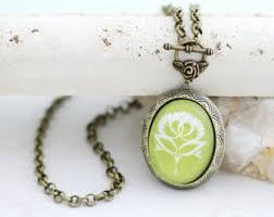 Personalized Photo Locket Necklace Custom Locket Etsy