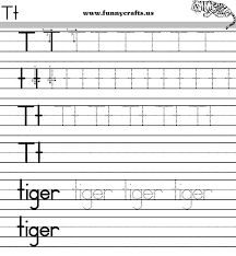 letter t handwriting worksheets for preschool to first grade