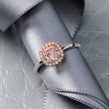 diamond pink rings images Jeffrey daniels pink diamond ring png