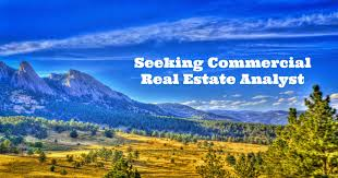 Seeking Commercial Seeking Commercial Real Estate Analyst The Boulder