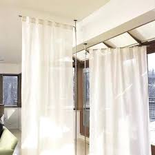 curtains ceiling divider curtain panels indoor room dividers