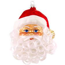 curly bearded santa ornament waiting on martha