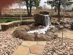 backyard water feature contractor for canon city colorado city