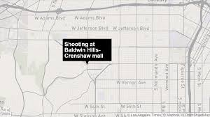 Mall Of Louisiana Map by 1 Injured In Shooting At Baldwin Hills Crenshaw Mall U0027people Were