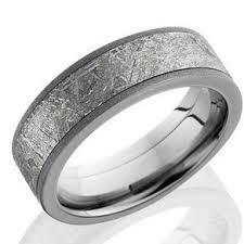 meteorite mens wedding band meteorite rings and wedding bands custommade
