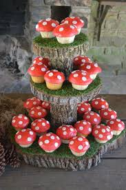 Halloween Fairy Cakes by Best 25 Mushroom Cupcakes Ideas Only On Pinterest Fairy House