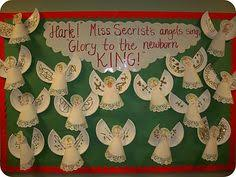 Ideas For Christmas Tree Bulletin Board by Christmas Tree Bulletin Board Ideas Sunday Pinterest