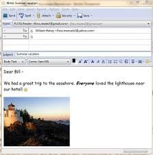 format html for email chapter composing messages thunderbird