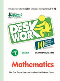 cbse desk work sample papers for class 10 term 2 mathematics