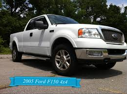 ford f150 truck 2005 2005 white ford f 150 for sale 4 4 lariat