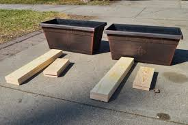 how to build a patio table remodelaholic build a patio table with built in ice boxes