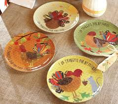 thanksgiving plates from pottery barn siminovich studio