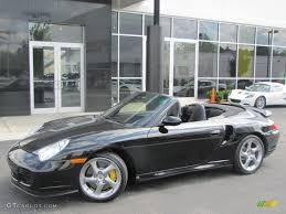 porsche 911 convertible 2005 black 2005 porsche 911 turbo s cabriolet exterior photo 57177157