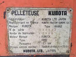 kubota kh8 2 info