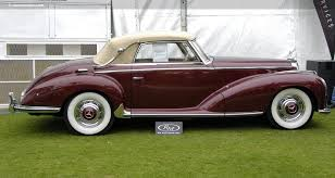 mercedes adenauer auction results and sales data for 1952 mercedes 300