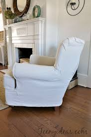 Slipcovers Made From Drop Cloths My Perfectly Imperfect Slipcovers Teeny Ideas