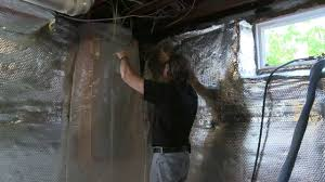 Basement Wall Insulation Options by Sealing And Insulating The Rim Joist Youtube